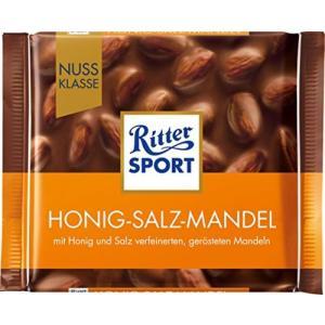【発売元】 リッタースポーツ   【商品説明】 はちみつコーティングした塩味アーモンドを丸ごと入れた...
