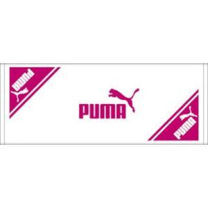 PUMA(プーマ) スポーツタオルA(90×35cm) 869248 04WHITE-FUCH|hows