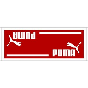 PUMA(プーマ) スポーツタオルB 90×35cm 869249 05REGAL RED-|hows