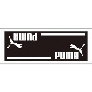 PUMA(プーマ) スポーツタオルB 90×35cm 869249 06BLACK-WHIT|hows