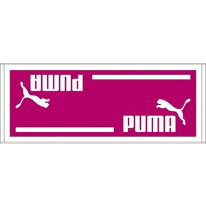 PUMA(プーマ) スポーツタオルB 90×35cm 869249 08FUCHSIA RO|hows