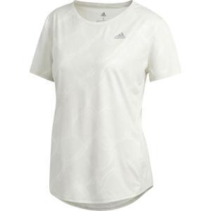adidas(アディダス) オウン ザ ラン AOP TシャツW レディース GDO75 ED5860 オフWHT/ローWHTS J/S|hows