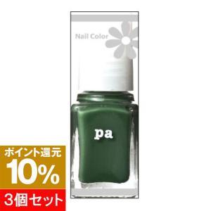【ポイント10倍】【3個セット】pa ネイルカラー A32 ディープグリーン 6ml hows