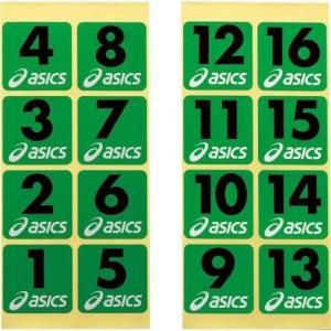 アシックス(asics) グラウンドゴルフ ホールナンバーシール GGG54S 108|hows