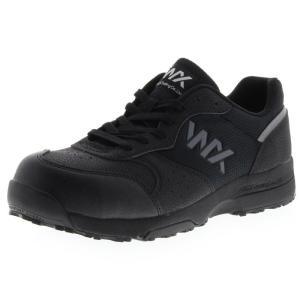 アシックス商事 TEXCY WX(テクシーワークス) 安全靴 プロテクティブスニーカー メンズ WX-0001 ブラック 23.0cm|hows