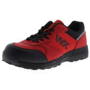 アシックス商事 TEXCY WX(テクシーワークス) 安全靴 プロテクティブスニーカー メンズ WX-0001 レッド 26.5cm|hows