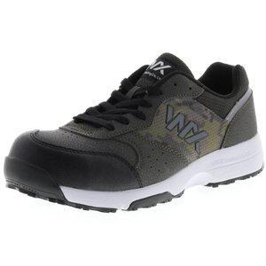 アシックス商事 TEXCY WX(テクシーワークス) 安全靴 プロテクティブスニーカー メンズ WX-0001 カーキ 26.0cm|hows
