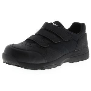 アシックス商事 TEXCY WX(テクシーワークス) 安全靴 プロテクティブスニーカー メンズ WX-0002 ブラック 25.0cm|hows
