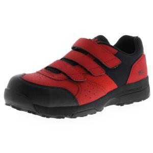 アシックス商事 TEXCY WX(テクシーワークス) 安全靴 プロテクティブスニーカー メンズ WX-0002 レッド 26.5cm|hows