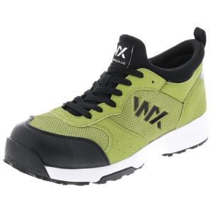 アシックス商事 TEXCY WX(テクシーワークス) 安全靴 プロテクティブスニーカー メンズ WX-0003 ライトグリーン 28.0cm|hows
