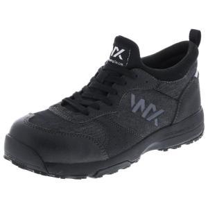 アシックス商事 TEXCY WX(テクシーワークス) 安全靴 プロテクティブスニーカー メンズ WX-0003D ブラック 25.5cm|hows