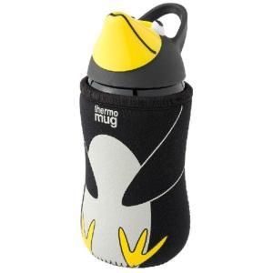 サーモマグ thermomug キッズシリーズ アニマルボトル ブラック AM18-38の商品画像|ナビ