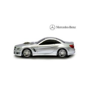 LANDMICE メルセデス ベンツ AMG (シルバー) 無線マウス 2.4G BENZ-SL63...