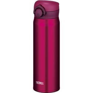 サーモス(THERMOS) 水筒 真空断熱ケータイマグ 【ワンタッチオープンタイプ】 500ml ワインレッド JNR-500 WNR|hows