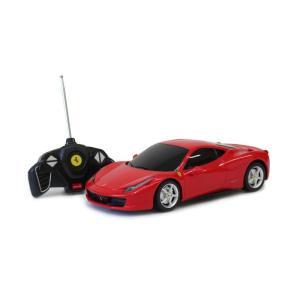 【代引・日時指定・北海道沖縄離島配送不可】Ferrari 458 Italia フェラーリ458イタリア ラジコンカー(RCカー) 1/18スケール レッド MG-RCF18F|hows