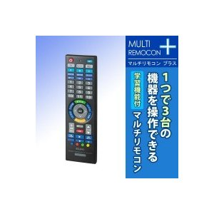 ELPA(エルパ) マルチリモコンプラス 学習機能付 RC-TV007UDL 1746900