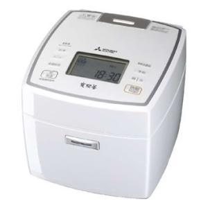 三菱 MITSUBISHI 5.5合 IHジャー炊飯器 備長炭 炭炊釜 NJ-VV109-W (NJ...
