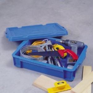 アイリスオーヤマ BOXコンテナ B-13 ブルーの商品画像