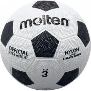 モルテン Football 亀甲ゴムサッカーボール F3W 白×黒