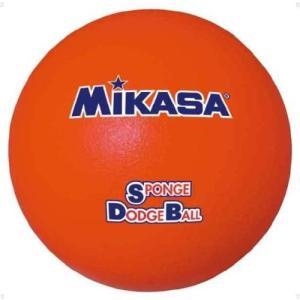 ミカサ(MIKASA) スポンジドッジボール STD18 レッド