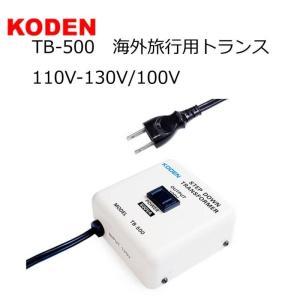 TB-500 海外旅行用トランス 110V-130V/100V|hows