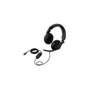 【発売元】 バッファロー  【商品説明】 両耳ヘッドバンド式ゲーミングヘッドセット ブラック