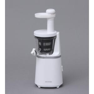 アイリスオーヤマ スロージューサー ホワイト ISJ-56-W