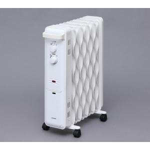 アイリスオーヤマ ウェーブ型 メカ式 オイルヒーター ホワイト IWH-1210K-W|hows