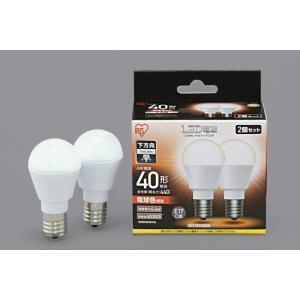 【数量限定特価】アイリスオーヤマ LED電球 E17口金 直下 40W形相当 電球色 2個セット LDA4L-H-E17-4T52P