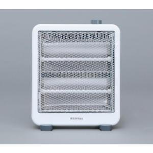 アイリスオーヤマ 電気ストーブ ホワイト IEH-800W|hows
