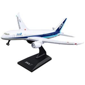 エアプレーングッズ リアルサウンドジェット ディスプレイスタンド付き ANA飛行機模型 MT456|hows