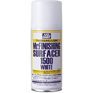 GSIクレオス Mr.フィニッシングサーフェイサー 1500 ホワイト スプレー 170ml ホビー...