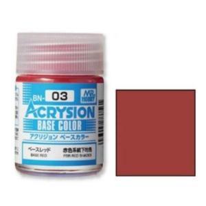 GSIクレオス BN03 アクリジョンベースカラー ベースレッド