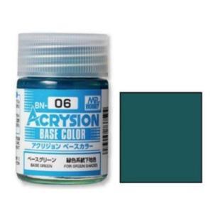 GSIクレオス BN06 アクリジョンベースカラー ベースグリーン