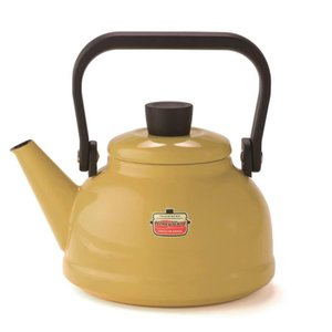 富士ホーロー ハニーウェア(Honey Ware) ソリッド 1.6L ケトル マスタード SD-1...