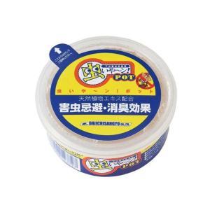 不快害虫忌避剤 虫いや〜ン POT100g 23020023