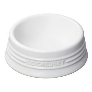 ル・クルーゼ(Le Creuset) ペットボール(S) ホワイト 910249-01-01 防汚 ...