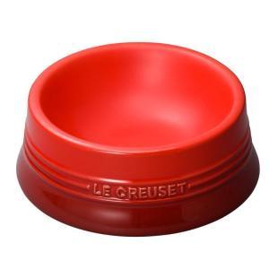 ル・クルーゼ(Le Creuset) ペットボール(M) チェリーレッド 910249-92-06 ...