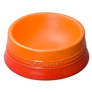 ル・クルーゼ(Le Creuset) ペットボール(M) オレンジ 910249-92-09 防汚 ...