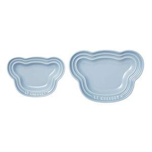 ル・クルーゼ(Le Creuset) ベビー ベビー・ベアー・プレート・セット 子供用 皿 2枚セッ...