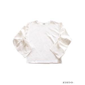 【2点以上お買い上げで10%オフ対象商品】mia(ミア) レディースファッション 袖リボンブラウス|hows|04