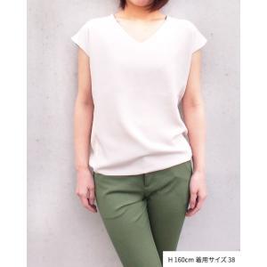 【2点以上お買い上げで10%オフ対象商品】mia(ミア) レディースファッション UVカットきれいめニット|hows|02