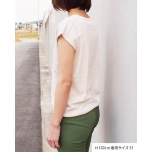 【2点以上お買い上げで10%オフ対象商品】mia(ミア) レディースファッション UVカットきれいめニット|hows|05