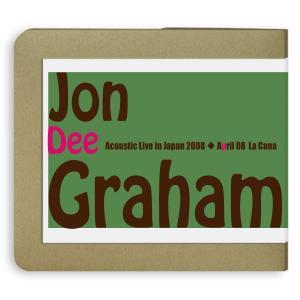 ジョン・ディー・グラハム Jon Dee Graham / 2008.04.08 / La Cana 2枚組(cd-r):ホイホイレコードだけ販売|hoyhoy-records