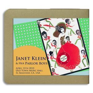 ジャネット・クライン Janet Klein / 2010.04.11/ Old Town Music Hall/ 2CD(-R)|hoyhoy-records