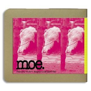 モー moe. /2011.02.10 名古屋 / 3CD(-R) ホイホイレコードだけ販売 ジャム|hoyhoy-records