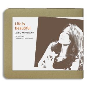 森川美穂 / 森川美穂CDリリース記念ライブ〜Life is Beautiful〜 / 2枚組(CD-R)-ホイホイレコードだけ販売|hoyhoy-records