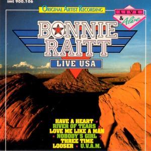 ボニー・レイット Bonnie Raitt / Live USA|hoyhoy-records