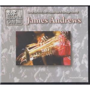 【稀少盤】ジェイムス・アンドリューズ James Andrews / ニューオーリンズ・ジャズ・フェス 2008:ココだけ販売 hoyhoy-records