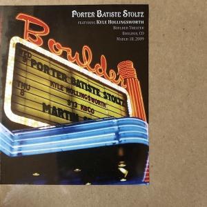 【輸入盤CD】ポーター、バティスト、ストルツ / Live at Boulder Theatre 03-18-2009 hoyhoy-records